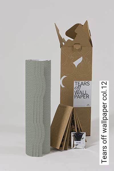 Tears-off-wallpaper-col.12-Bögen-Formen-mint