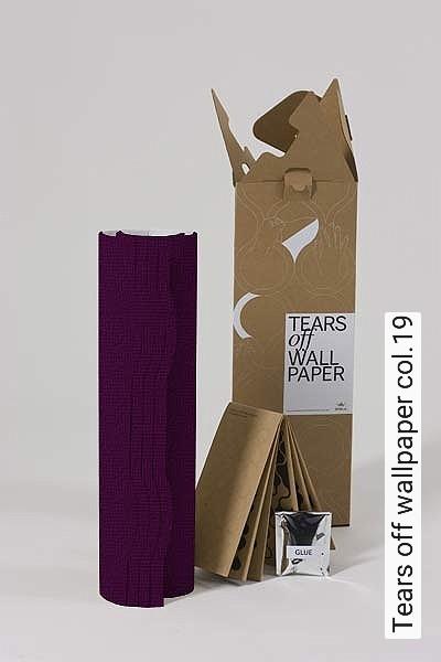 Tears-off-wallpaper-col.19-Bögen-Formen-Lila