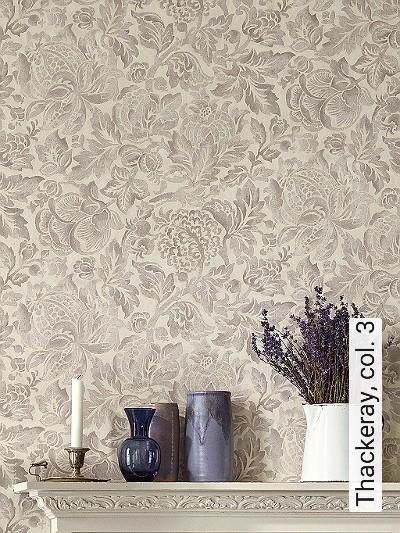 Thackeray,-col.-3-Blumen-Blätter-Florale-Muster-Creme-Hellbraun