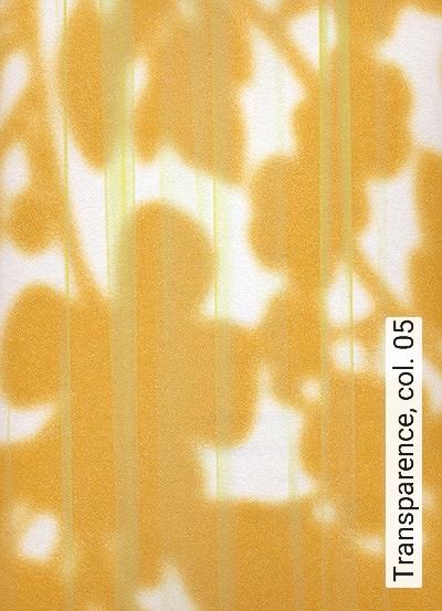 Transparence,-col.-05-Blätter-Moderne-Muster-Orange-Hellgrün-Weiß