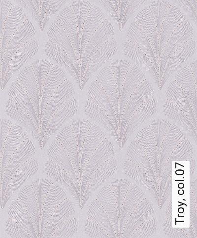 Troy,-col.07-Ornamente-Blätter-Art-Deco-1920er-Jahre-Grau-Bronze-Flieder
