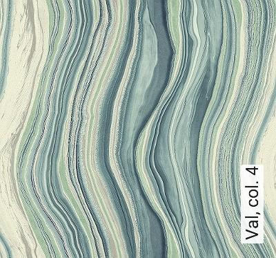 Val,-col.-4-Wellen-Moderne-Muster-Blau-Silber-Hellgrün-Creme