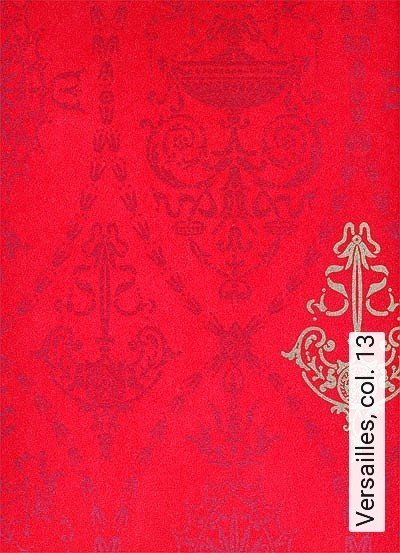 Versailles,-col.-13-Ornamente-Klassische-Muster-Rot-Gold