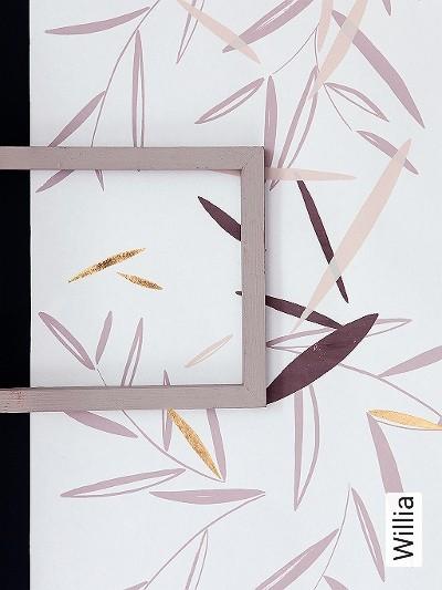 Willia-Blätter-Florale-Muster-Gold-Rosa-Weiß-Hellbraun