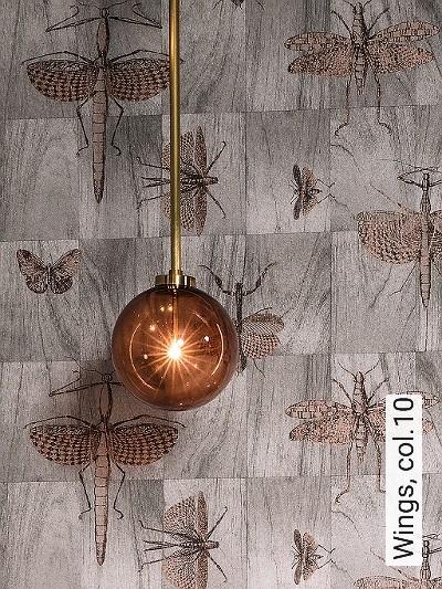 Wings,-col.10-Tiere-Kachel-Holz-Moderne-Muster-Grau-Braun-Bronze