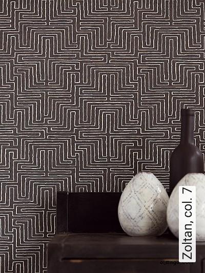 Zoltan,-col.-7-Graphisch-Grafische-Muster-Schwarz-und-Weiß
