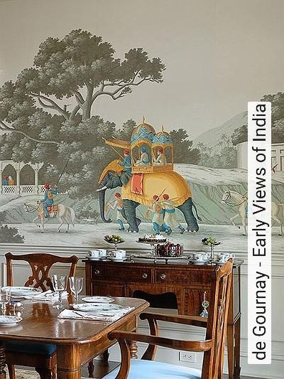 de-Gournay---Early-Views-of-India-Tiere-Bäume-Landschaft-Gebäude-Vintage-Tapeten-Klassische-Muster-Fauna-FotoTapeten-Creme-Multicolor