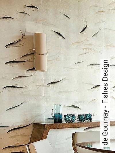 de-Gournay---Fishes-Design-Tiere-Fische-Vintage-Tapeten-Klassische-Muster-Fauna-FotoTapeten-Blau-Silber-Perlmutt