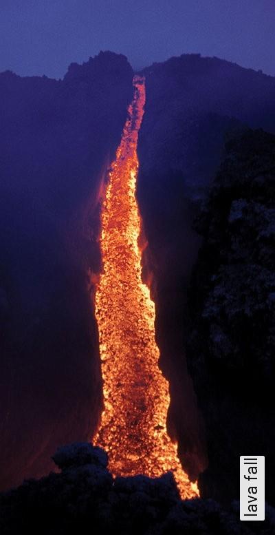 lava-fall-Landschaft-FotoTapeten-Multicolor