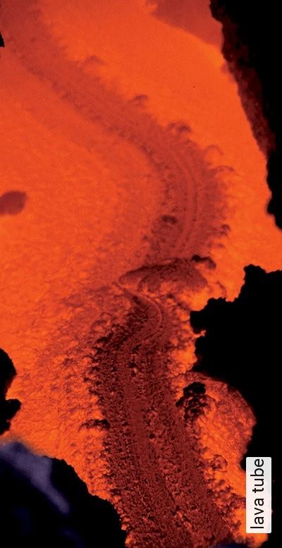 lava-tube-Landschaft-FotoTapeten-Multicolor
