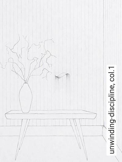 unwinding-discipline,-col.1-Streifen-Graphisch-Weiß