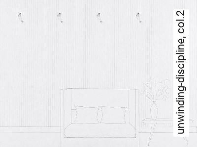 unwinding-discipline,-col.2-Streifen-Graphisch-Weiß