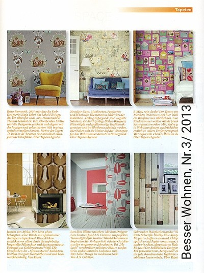 Bild: News - Besser Wohnen, Nr.3/ 2013