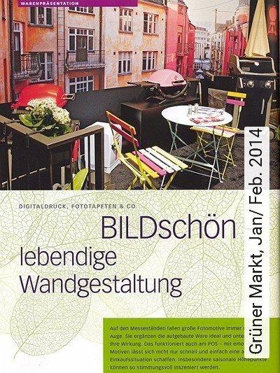 Bild: News - Grüner Markt, Jan/ Feb. 2014