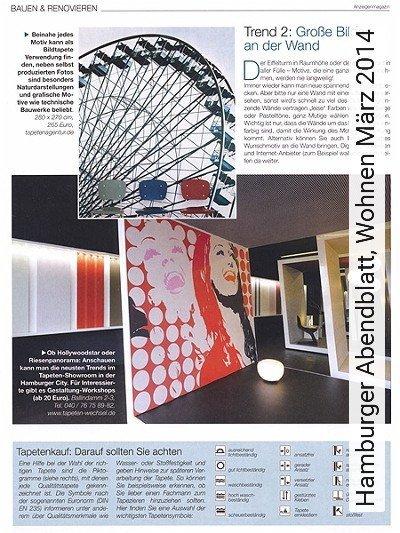 Bild: News - Hamburger Abendblatt, Wohnen März 2014