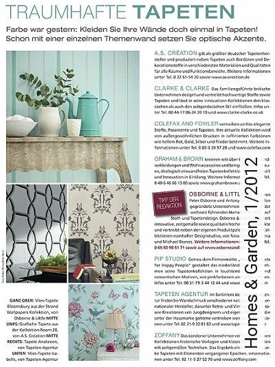 Bild: News - Homes & Garden, 1/2012