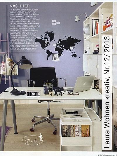 Bild: News - Laura Wohnen kreativ, Nr.12/ 2013