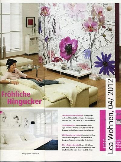 Bild: News - Lea Wohnen, 04/ 2012