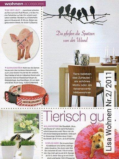 Bild: News - Lisa Wohnen Nr.2/ 2011