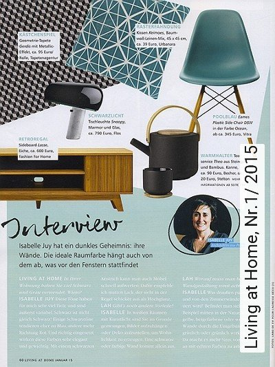Bild: News - Living at Home, Nr.1/ 2015