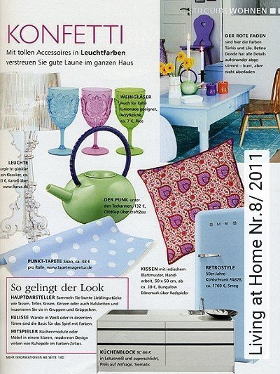 Bild: News - Living at Home Nr.8/ 2011