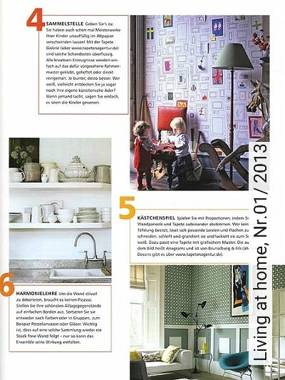 Bild: News - Living at home, Nr.01/ 2013