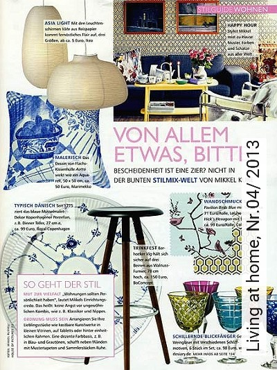 Bild: News - Living at home, Nr.04/ 2013