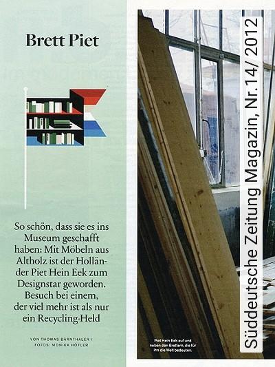 Bild: News - Süddeutsche Zeitung Magazin, Nr.14/ 2012