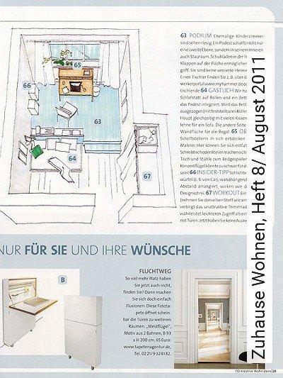 Bild: News - Zuhause Wohnen, Heft 8/ August 2011