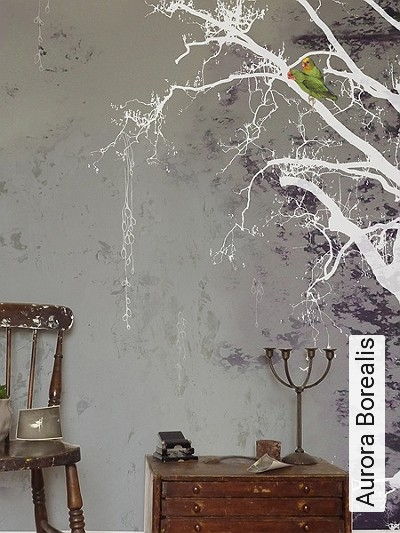 Bild: Tapeten - Aurora Borealis