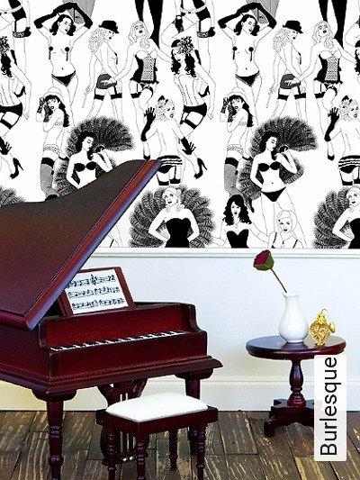 Bild: Tapeten - Burlesque