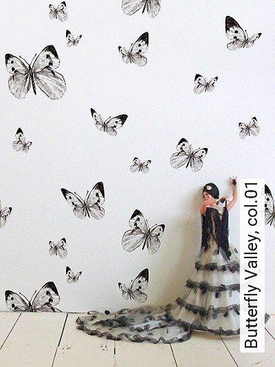 Bild: Tapeten - Butterfly Valley, col.01
