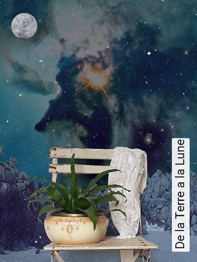 tapete de la terre a la lune die tapetenagentur. Black Bedroom Furniture Sets. Home Design Ideas