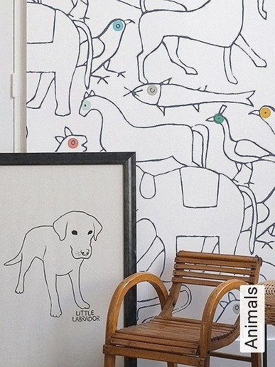 Bild: Tapeten - Animals
