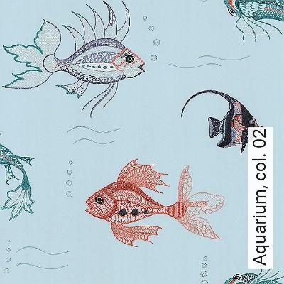 Bild: Tapeten - Aquarium, col. 02