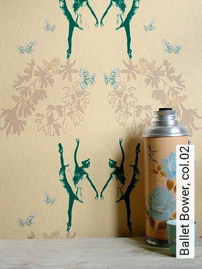 Bild: Tapeten - Ballet Bower, col.02