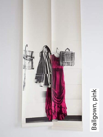 Bild: Tapeten - Ballgown, pink
