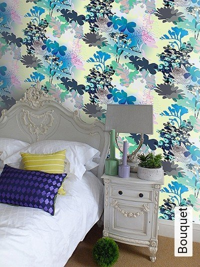 Bild: Tapeten - Bouquet