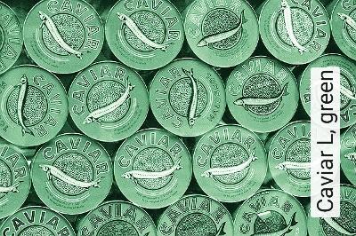 Bild: Tapeten - Caviar L, green