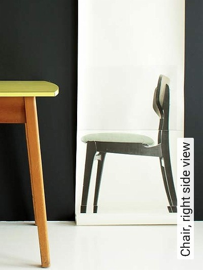 Bild: Tapeten - Chair, right side view