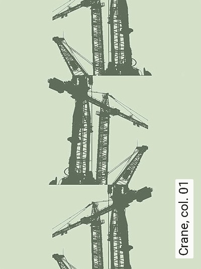 Bild: Tapeten - Crane, col. 01