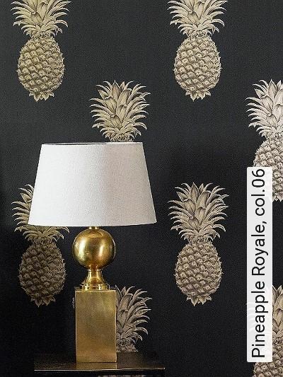 Bild: Tapeten - Pineapple Royale, col.06