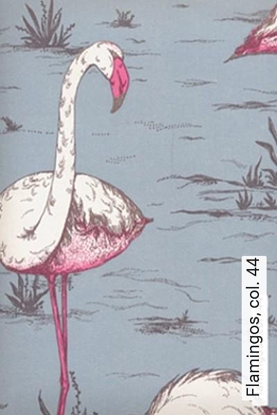 Bild: Tapeten - Flamingos, col. 44