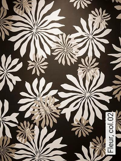Bild: Tapeten - Fleur, col.02