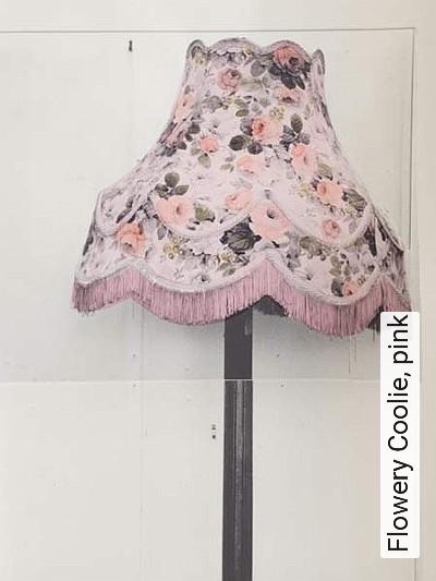 Bild: Tapeten - Flowery Coolie, pink
