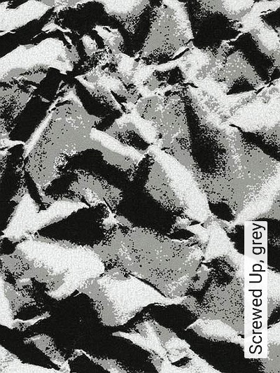 Bild: Tapeten - Screwed Up, grey