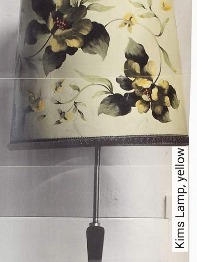 Bild: Tapeten - Kims Lamp, yellow