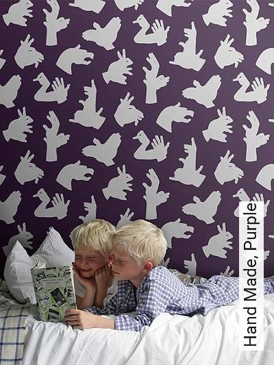 Bild: Tapeten - Hand Made, Purple