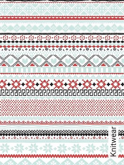 Bild: Tapeten - Knitwear