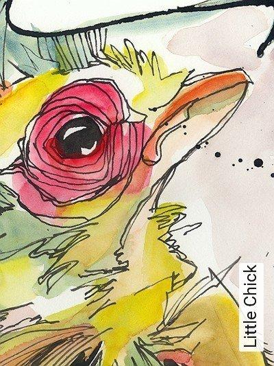 Bild: Tapeten - Little Chick